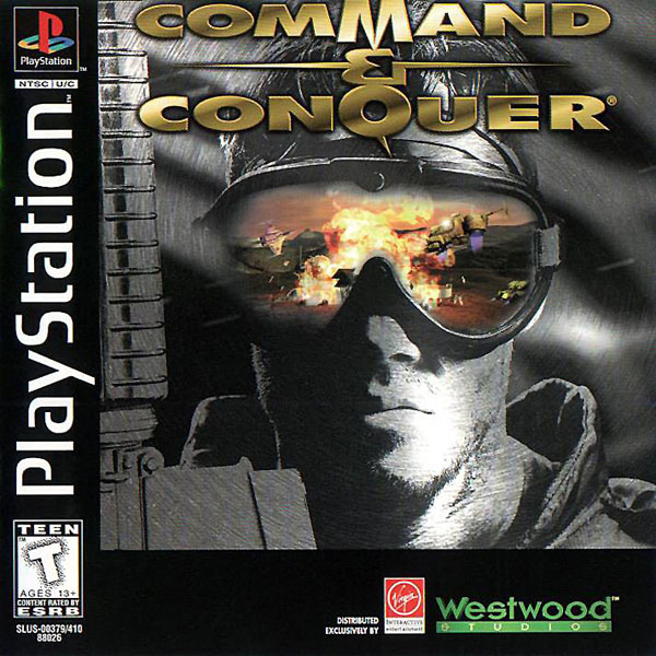 Command & Conquer [NOD Disc] Front Cover